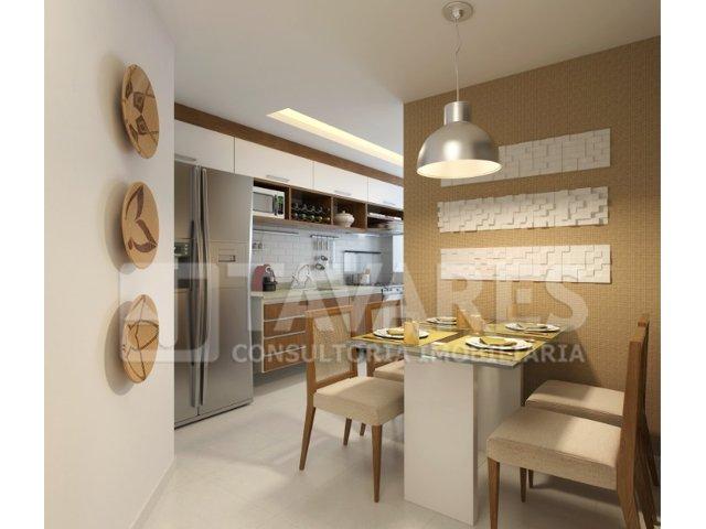 Ilustração cozinha