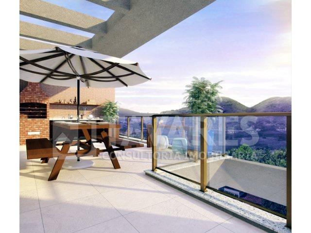 Ilustração terraço